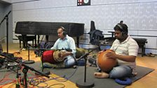 Ganesh and Kumaresh in session