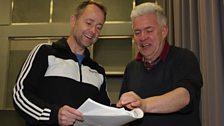 Billy Boyd and Ian McMillan