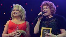 Elaine Paige and Vicky Entwistle present the Radio 2 Audience Award
