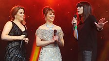 The stars of Wicked chat to Radio 2 stage host Claudia Winkleman