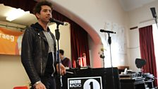Grimmy takes to the stage