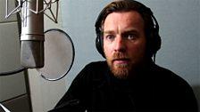 Ewan McGregor records the narration in LA