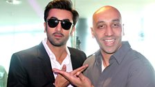 Tommy with Ranbir Kapoor