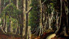 Forest Path by Ben Enwonwu (1943)