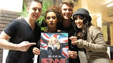 Backing Bonnie all the way