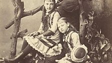 Henry Handel Richardson with her Mother Mary and Sister Lily, ca. 1881-1882