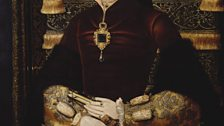 After Anthonis Mor van Dashorst, Mary I wearing the famous La Peregrina pearl, 1554-9