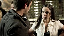 Jakob directing Laura Donnelly