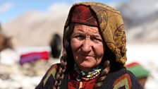One of the Wakhi women.