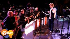 Claire Teal and the BBC Big Band sax section