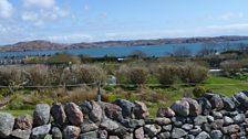The view from Davie Kirkpatrick's garden