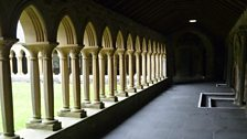 Iona Abbey cloisters