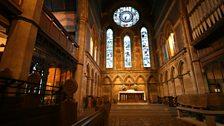 Govan Old Parish Church interior 1