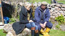 Cathy & Davie Kirkpatrick on Iona