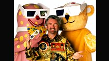 Pudsey, Noel and Mr Blobby go 3D