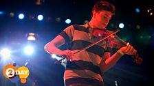 Ciaran Algar rehearsing for 2Day's Gala Concert