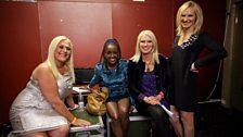 Vanessa Feltz, Anneka Rice, Diane-Louise Jordan and Jo Whiley