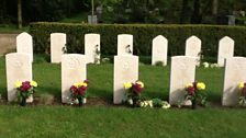 Graves of the crew of A-Apple