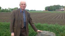 Historian Richard Suhling at Astell memorial