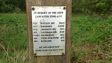 Memorial to the crew of C-Charlie