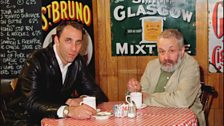 Will Self and filmmaker Mike Leigh