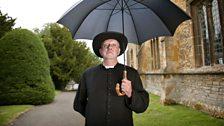 Mark Williams as GK Chesterton's Father Brown