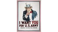 I Want You For the US Army, 1917