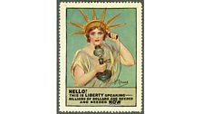 Liberty Calling poster stamp