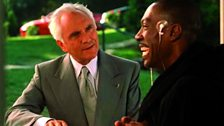 Terence Stamp with Eddie Murphy in Bowfinger (1999)