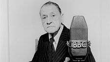 Somerset Maugham at the BBC on 5 December 1951