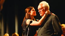 Gemma Arterton and Terence Stamp in Song for Marion (2012)