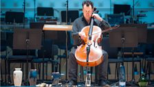 Anton Lukoszevieze performs Music for Cello and one or more Amplified Vases by Alvin Lucier