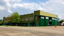 RAF Scampton Hanger Exterior