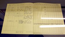 Guy Gibson's Log Book