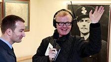 Chris interviews 617 Squadron's current Wing Commander David Arthurton