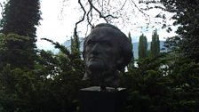Wagner bust at Tribschen