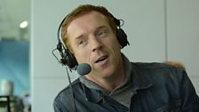 Damian Lewis joins TMS at lunch