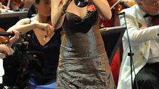 Alison Balsom and the BBC Symphony Orchestra at the Last Night of the 2009 Proms