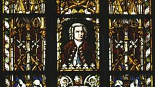 The Bach Window in the Thomaskirche, Leipzig