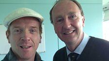 Damian Lewis with Jonathan Agnew