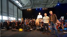 Jeremy Vine, Dermot O'Leary and the BBC Concert Orchestra