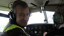 Jeremy takes a flight in a light aircraft