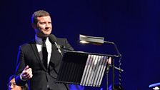 Dermot O'Leary minutes before going live