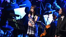 Gabrielle Aplin singing 'Underneath The Stars'