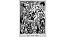 """Programme 3 """"Freaks and Entrepreneurs"""" A show bill for Barnum and Bailey's show – """"a curious collection of freaks"""""""