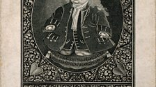 """Programme 3 """"Freaks and Entrepreneurs"""" - A 1724 self portrait by the artist Matthew Buchinger, who was born without arms or legs"""