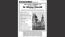 Radio Times for the state funeral of Winston Churchill (Part 4)