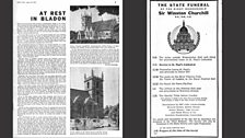 Radio Times for the state funeral of Winston Churchill (Part 5)