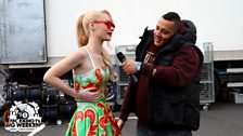 Semtex backstage with Iggy Azalea