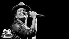 Bruno Mars at Radio 1's Big Weekend